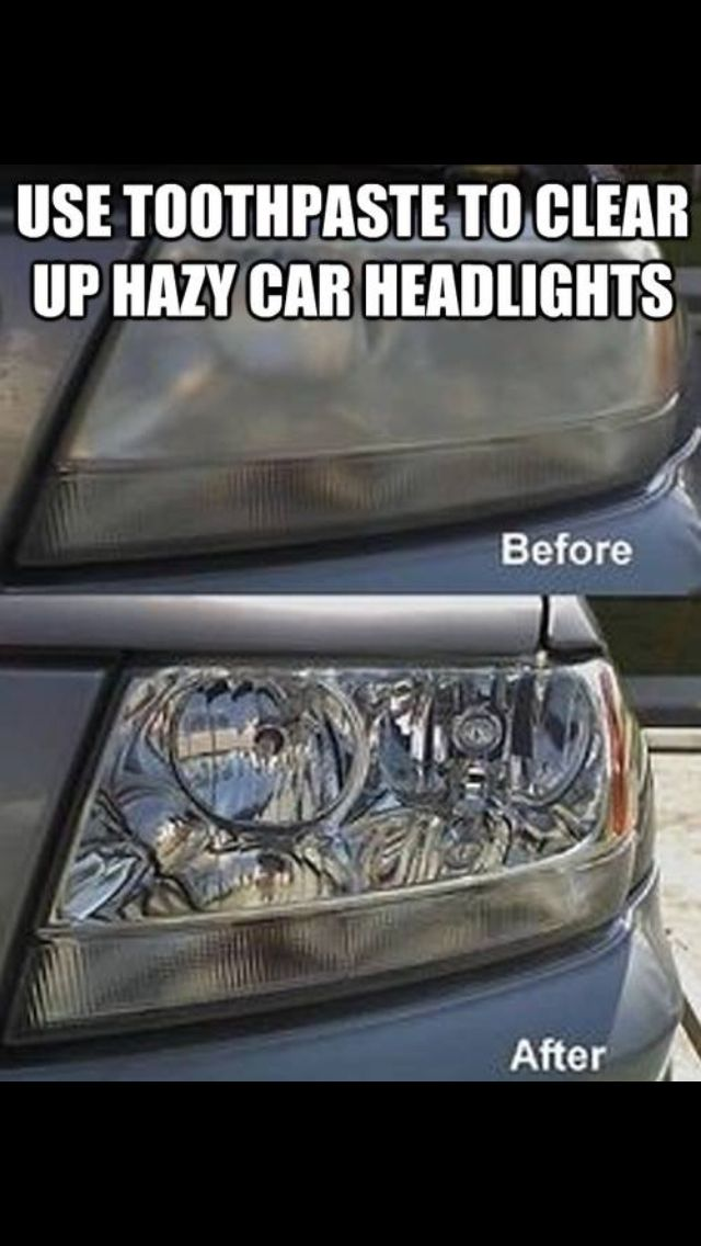 Cleaning headlights!!!
