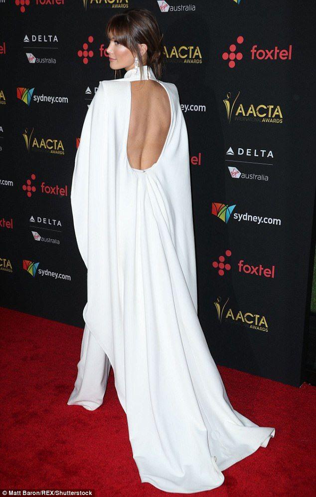 Nicole Kidman and Hugh Jackman at AACTA Awards in LA | Daily Mail Online