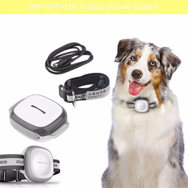 2017 Intelligent Wireless GPS Pet Finder Waterproof Pet Dog Cat Collar Anti-Lost Security Tracker Locator Device