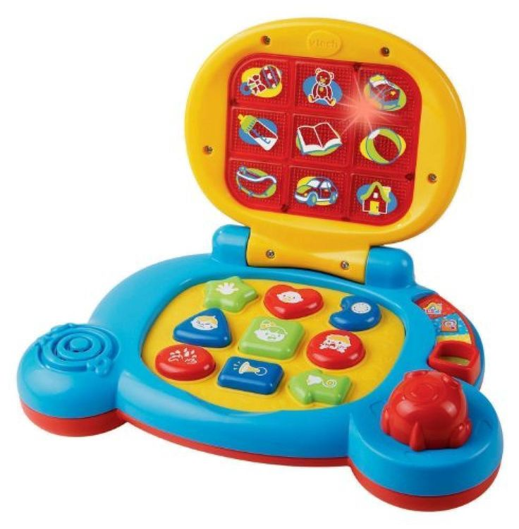 VTech Baby's Learning Laptop, Blue, New, Free Shipping Educational Toddler Toy #VTech