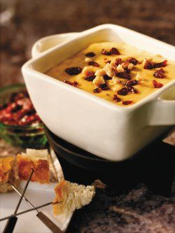 Melting Pot Recipes Including Wisconsin Trio, Irish Aged Cheddar, Traditional Swiss, Mediterranean Cheese, White Chocolate Pumpkin Pie, Flaming Turtle Chocolate
