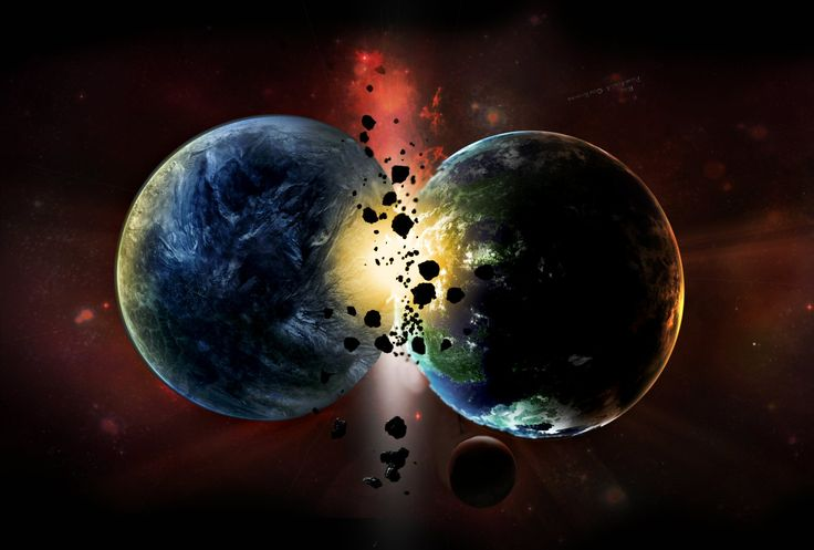 Planets   Planets Collide in an Epic Science Fiction Adventure Poem