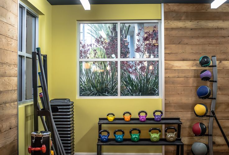 Fitness friendly apartments in los angeles from