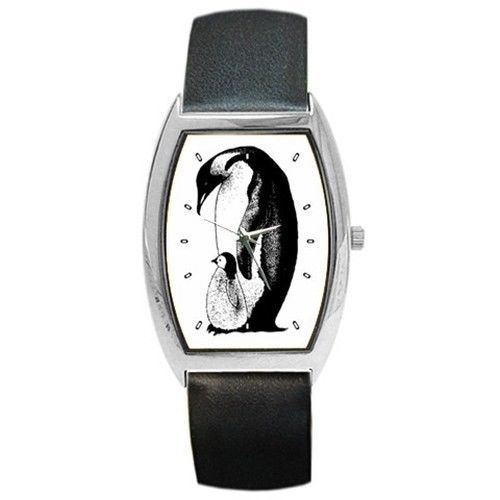 Penguin With Chick Baby Unisex New Wrist Watch