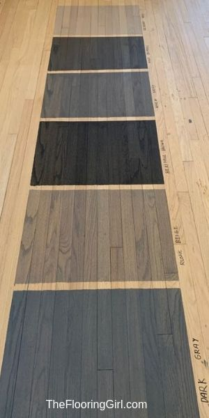 New Gray Blended Hardwood Stains By Duraseal Hardwood