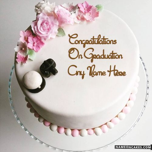 Congratulation Cake Images With Name : 17 Best ideas about Congratulations Graduate on Pinterest ...