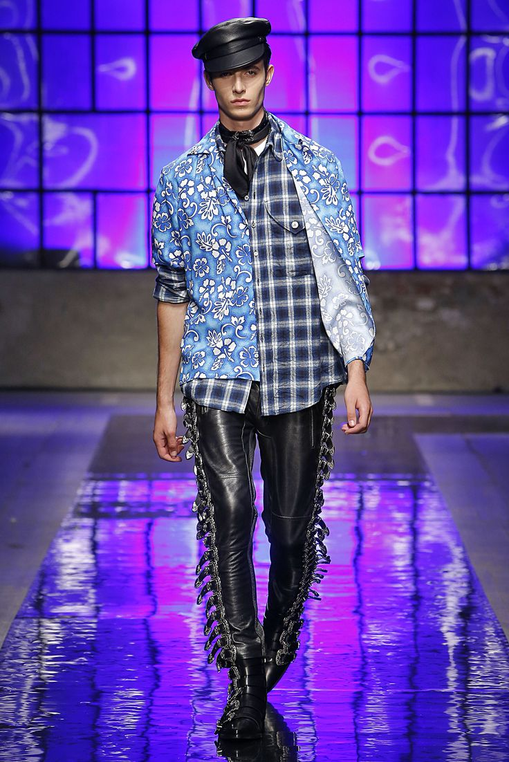 Dsquared2 Spring Summer 2018 Men and Women's Fashion Show #D2GETHER #Dsquared2 #MFW