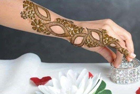 l Hand #Bazo Arabic #Mehndi Designs