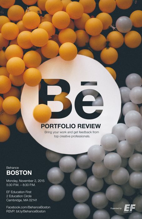 Boston can't wait for the #BehanceReviews!