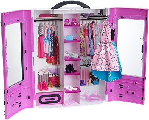 Barbie Fashionistas Ultimate Closet, Purple Barbie