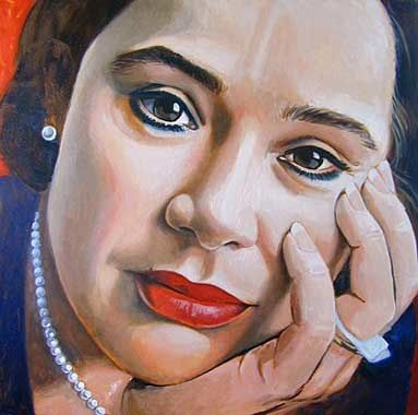Roos van Put, 100x 100cm, oil on canvas ©ermine