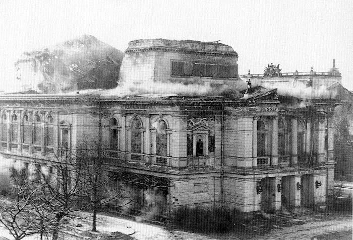 The Gewandhaus, Leipzig | Many of Europe's landmark concert halls and opera houses were rebuilt after WWII, the Leipzig Gewandhaus was not.