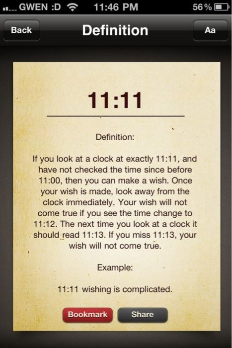 11:11 happens to me ALL the time! Even two kids born on the same 11th, but 3 years apart! I hope it means good luck ;)
