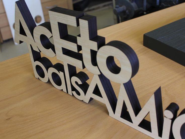 how to make laser cut wood signs