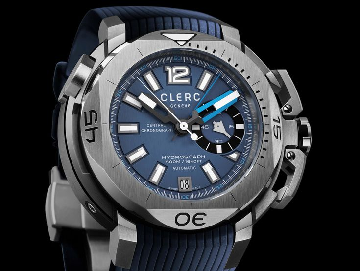 HIGHLY COMMENDED: Sports Activity Watches of the Year, Clerc Hydroscaph H1 Chronometer