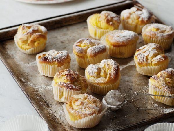 Saffraan-sinaas-appelcakjes (Libelle Lekker!)