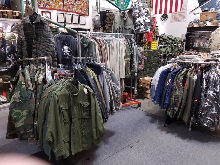 Air force clothes store