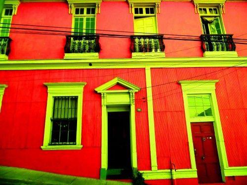fachada cerro alegre #valparaiso by barroco austral