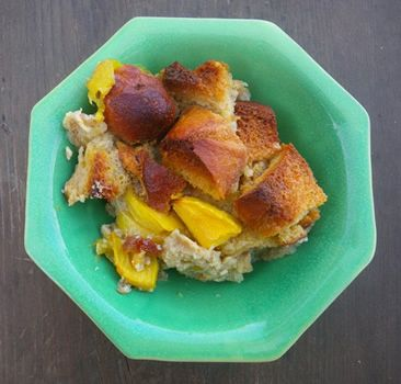 Moistest Mango Bread Pudding Ever | break-fast | Pinterest