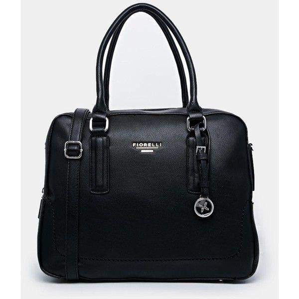 Fiorelli Boxy Tote Bag (€63) ❤ liked on Polyvore featuring bags, handbags, tote bags, black, black tote, fiorelli handbags, fiorelli purses, black handbags and fiorelli