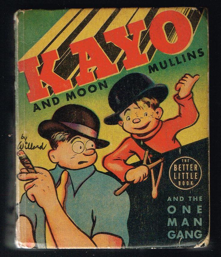 Kayo Moon Mullins and The One Man Gang Big Little Book BLB 1415 HC 1939 | eBay