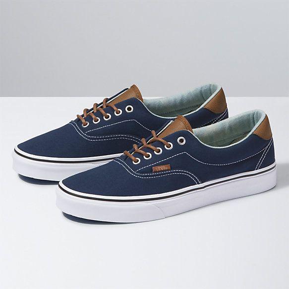 Brushed Twill Era 59 Shop At Vans Mens Summer Shoes Best Shoes For Men Denim Shoes Mens