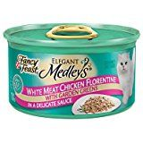 $32.98  - Elegant Medley Chicken Case Florentine Cat Food (Case... *** You can get additional details at the image link. (This is an affiliate link) #WetCatFood