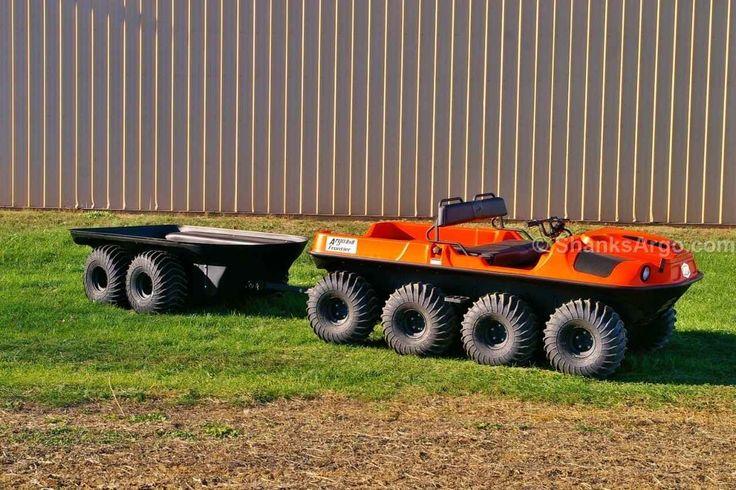 New 2017 Argo 4-Wheel Trailer ATVs For Sale in Pennsylvania.