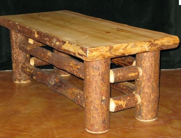 17 Best Images About Log Furniture On Pinterest End