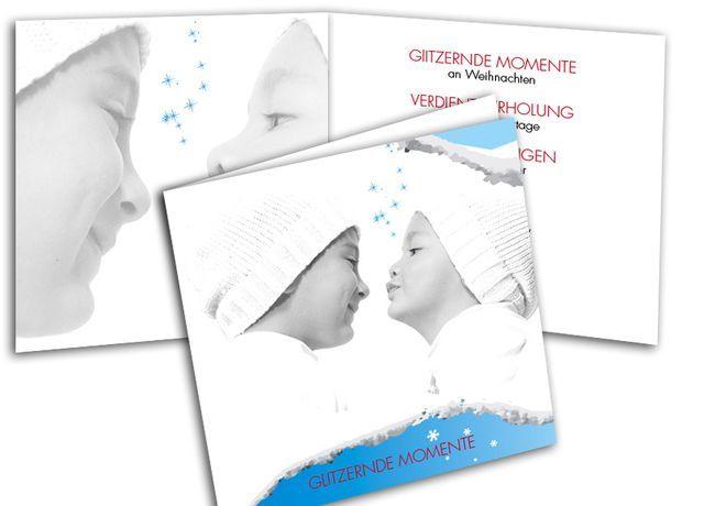 Weihnachtskarten+-+Glitzernde+Momente