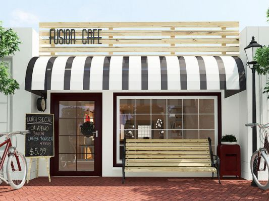Coffee Shop Exterior Design Store In 2019 Coffee Shop
