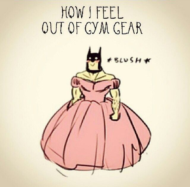 """How I feel outside my gym clothes."" #Fitness #Humour                                                                                                                                                     More"