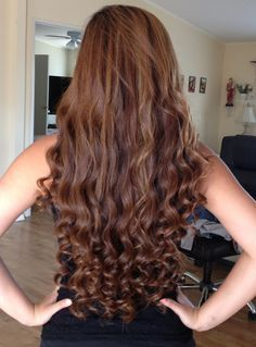 How to Curl Long Hair in 20 Minutes!