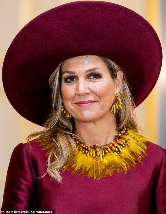 Queen Maxima Welcomes The President Of Austria To The Netherlands