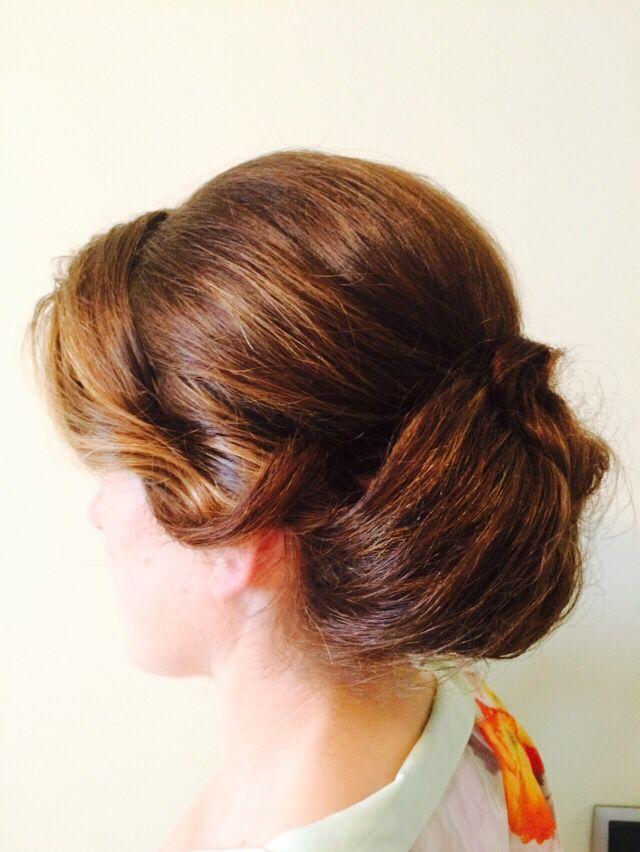 Vintage barrel curls 2015