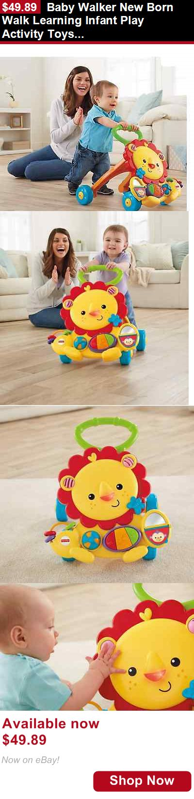 Baby walkers: Baby Walker New Born Walk Learning Infant Play Activity Toys Toddler Assistant BUY IT NOW ONLY: $49.89