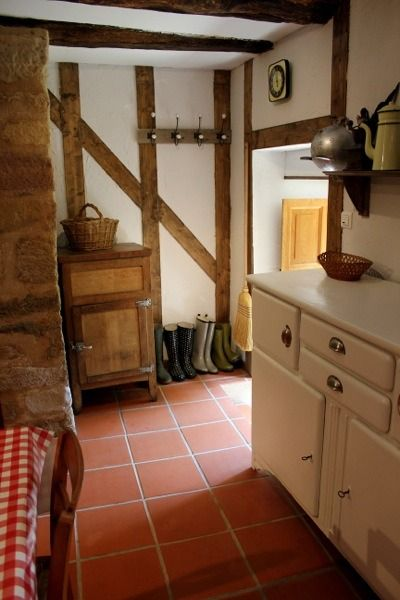 family uses 17th century tiny stone cottage in france for escapades - Stone Cottage Interiors
