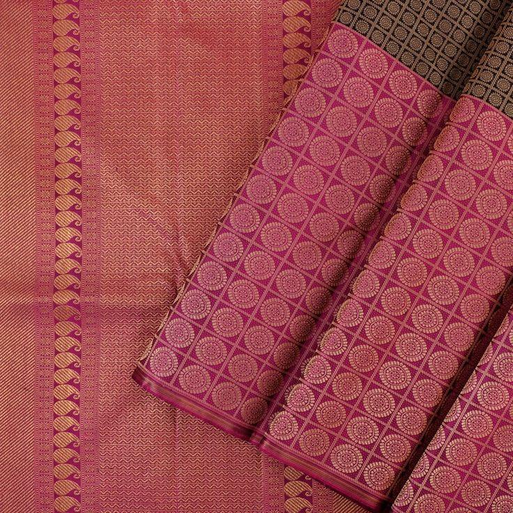 Kanakavalli Kanjivaram Silk Sari 072-01-28137