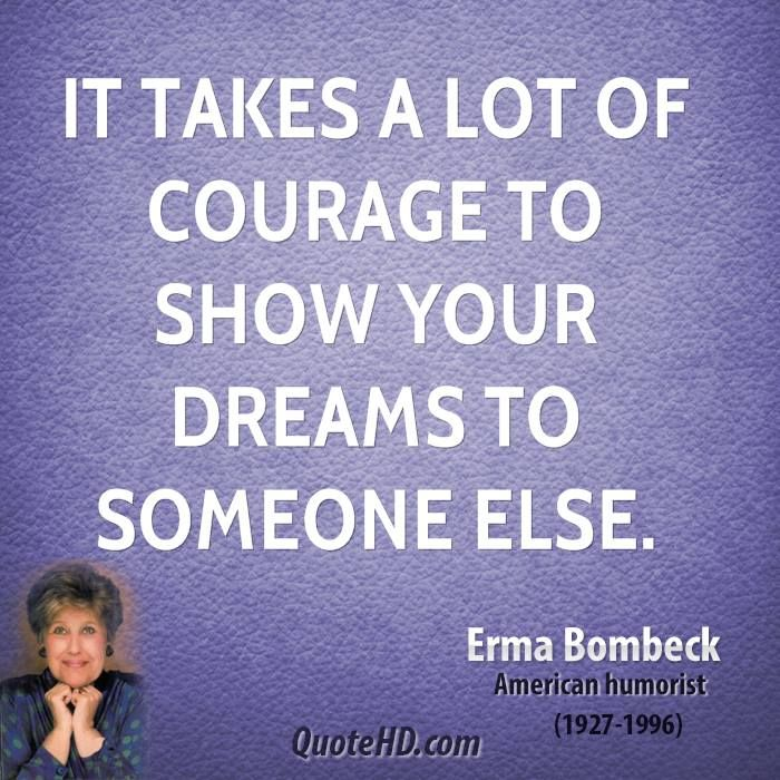~ Erma Bombeck...  Thank you for showing them to me...I believe in you!