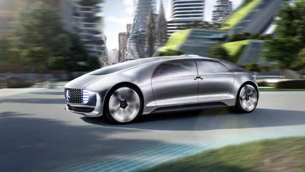 Koncept Mercedes-Benz F 015 Luxury in Motion