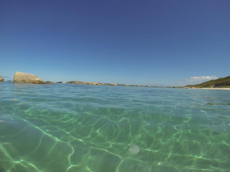 The water at Greens Pool in Denmark, WA will blow you away. It's cold, but crystal clear, flat calm and truly stunning!