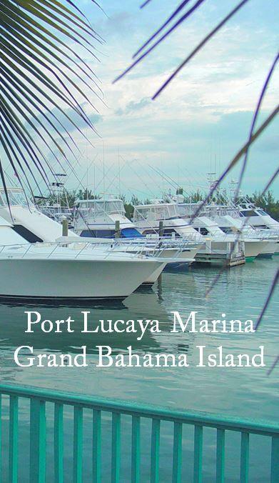 Port Lucaya Marina, Grand Bahama Island, The Bahamas