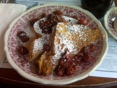 White Gull Inn - Fish Creek. Cherry Stuffed French Toast. Voted Best Breakfast in America by Good Morning America. Try the Coffee cake too!