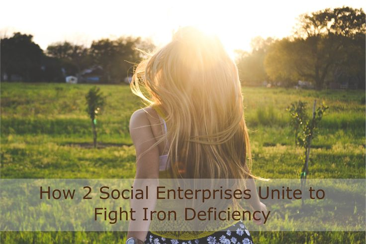 How 2 #SocialEnterprises Unite to Fight #IronDeficiency http://www.raultiru.com/end-iron-deficiency #Anemia Share this story