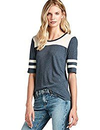 New Lucky Brand Women's - Varsity Striped Elbow Sleeve Football Tee online. Find the perfect Tipsy Elves Tops-Tees from top store. Sku IQRF82354KCAI54633