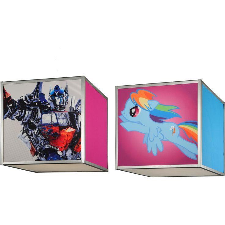 12 Inch Sq Hasbro Transformer/My Little Pony Shade - Custom Made