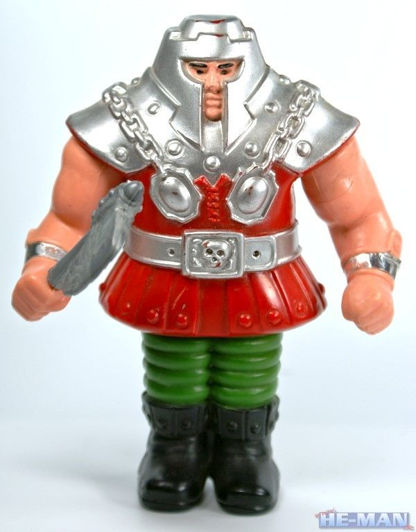 Ram Man An Heroic Warrior With Spring Action Legs And A