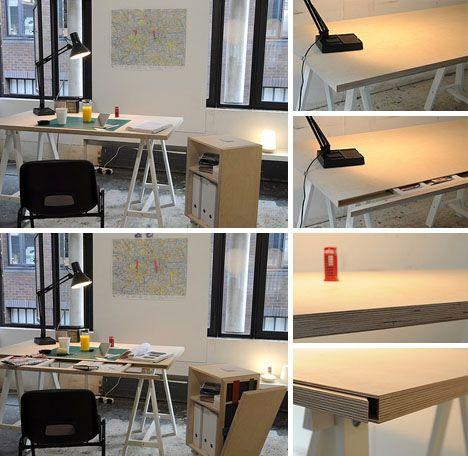 Secret Safe Hidden Desk.