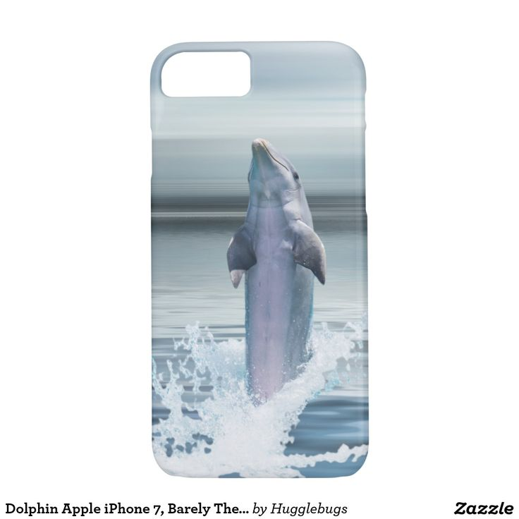 Dolphin Apple iPhone 7, Barely There Phone Case