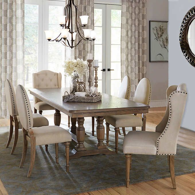 Prescott 7 Piece Dining Set Costco Ca 2449 00 Dining Set 7 Piece Dining Set Dining